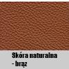 Skóra naturalna - Brąz