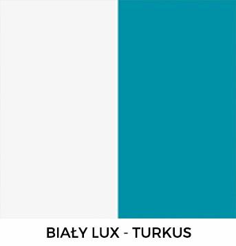 Biały Lux i Turkus