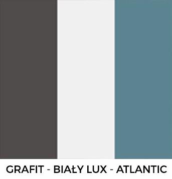 Grafit, Biały lux i Atlantic