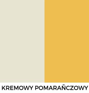 Kremowy i Pomaranczowy