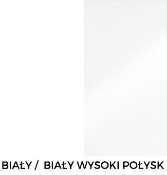 Biały / Biały Wysoki Połysk