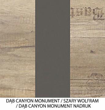 Dąb Canyon Monument / Szary Wolfram / Dąb Canyon Monument Nadruk