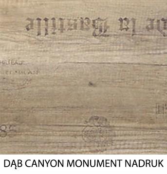 Dąb Canyon Monument Nadruk