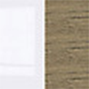 Biały połysk / Dąb canterbury