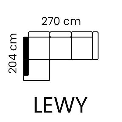 Sempre - narożnik lewy