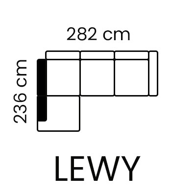 Emporio Lux - narożnik lewy