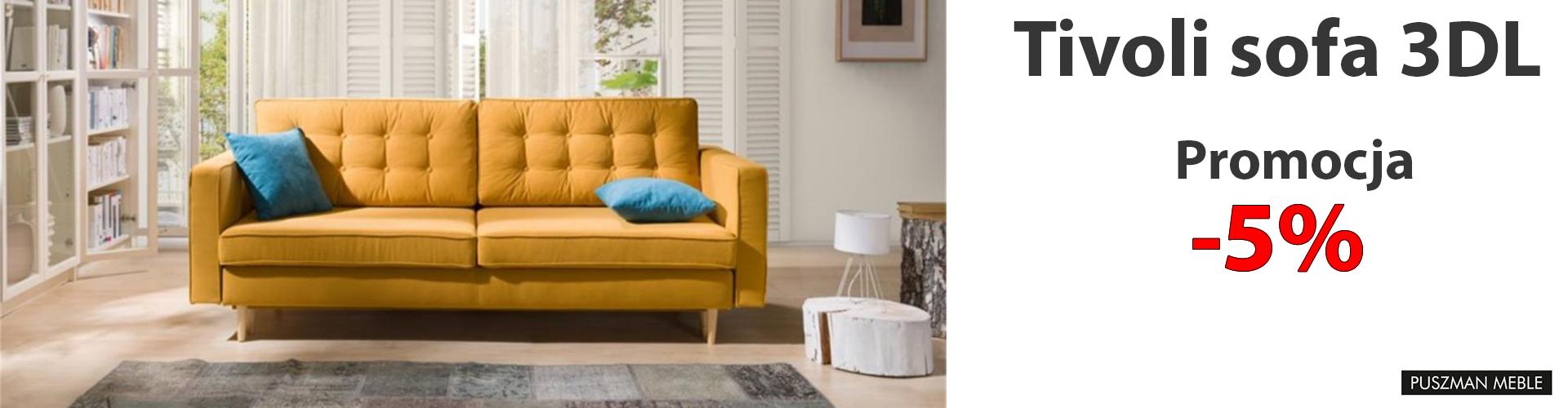 Tivoli sofa 3DL